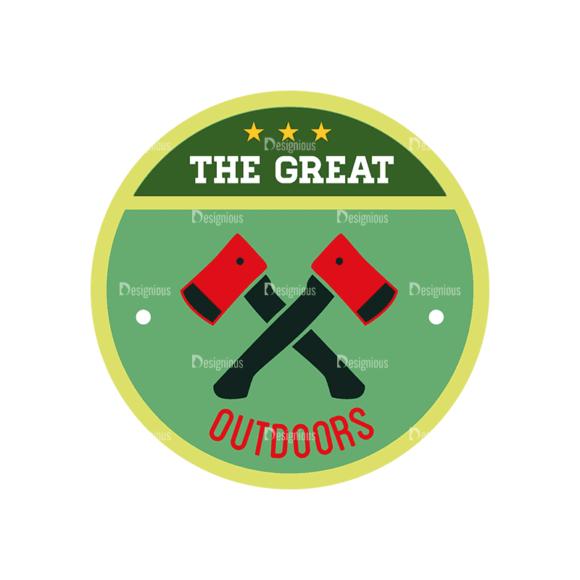 Vintage Outdoor Camp Badges Set 1 Badge 06 Svg & Png Clipart vintage outdoor camp badges set 1 vector badge 06