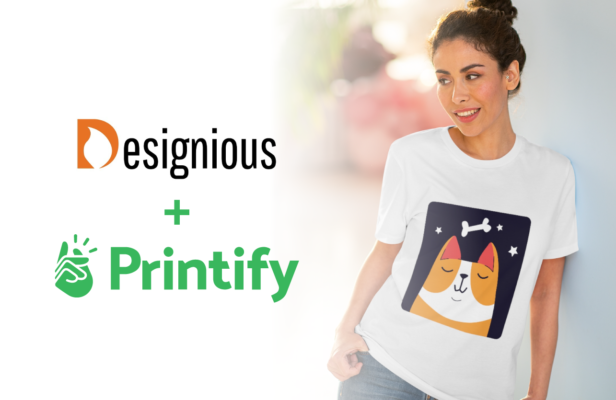 How To Start an Online T-shirt Business With Printify & Designious Designious Printify