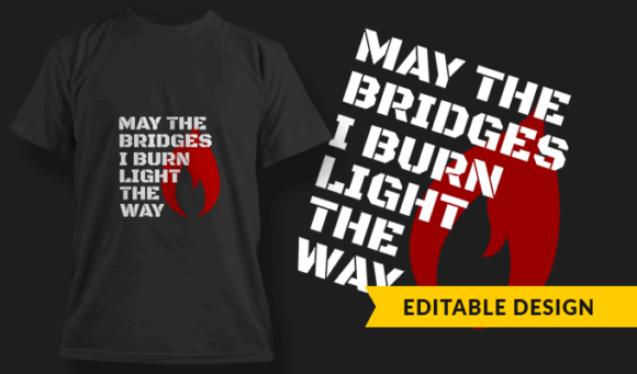 May The Bridges I Burn Light The Way may the bridges i burn light the way preview