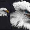 Bald Eagle | T-shirt Design Template 2524