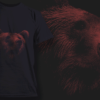 Bear | T-shirt Design Template 2521