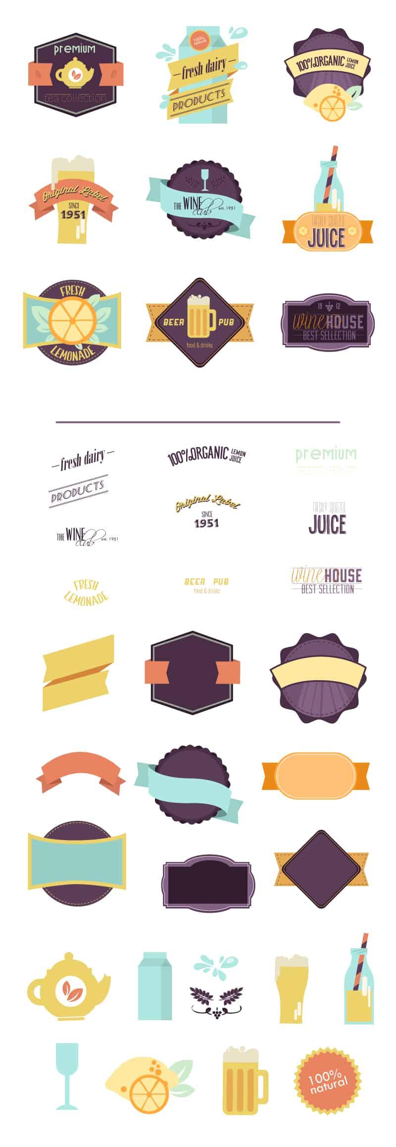 100+ Super Premium Badges 17