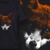 Fox | T-shirt Design Template 2520