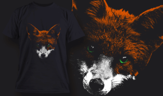 Fox | T-shirt Design Template 2520