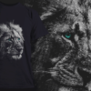 Grizzled Lion | T-shirt Design Template 2526