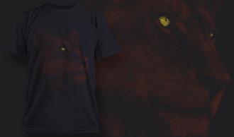 Lioness | T-shirt Design Template 2527