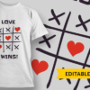 Love Wins! (tic tac toe)