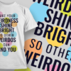 May Contain Alcohol make your weirdness shine bright preview