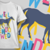 Well Endowed | T-shirt Design Template 2468 well endowed preview