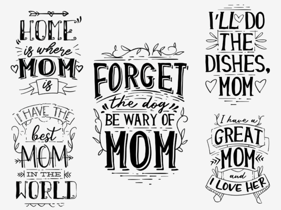 20x Mother's Day Quotes With Decorations mothersday 1
