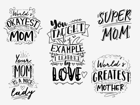 20x Mother's Day Quotes With Decorations mothersday 2