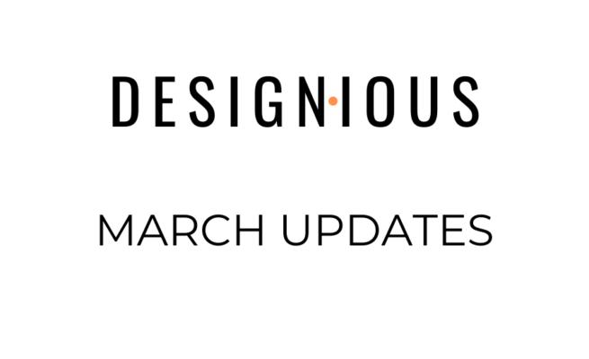 Designious March Updates 116