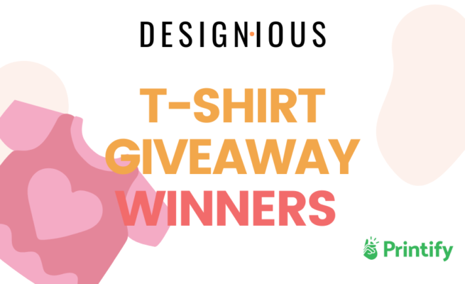 T-shirt Giveaway Winners - In Collaboration With Printify 114