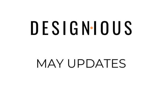 Designious May Updates 94