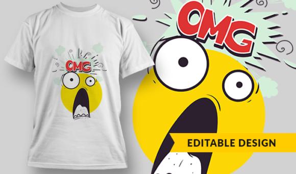 Baby Monkey | T-shirt Design Template 2857 1