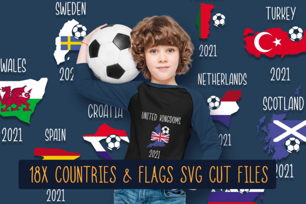New Items In Our Library And The Euro 2020 Flags Freebie 7