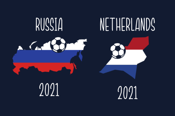 18x Countries & Flags SVG CUT FILES 6