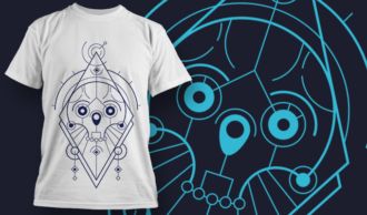 sacred-geometry-skull